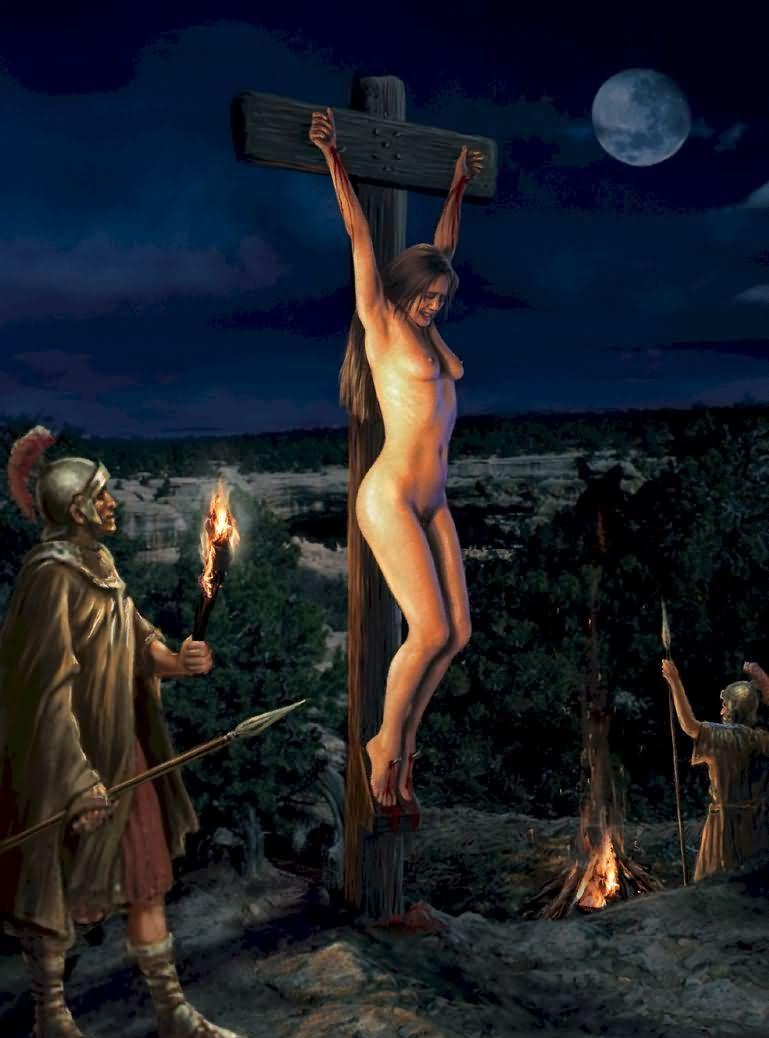 Blitzkrieg reccomend Femdom crucifiction art