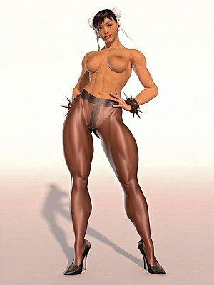 Muscle legs