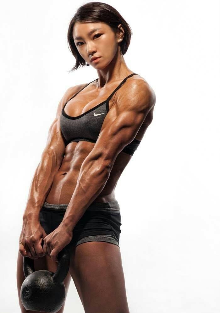 Dorito reccomend Nude asian muscle girl