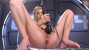 Deuce reccomend Blonde squirms on dildo