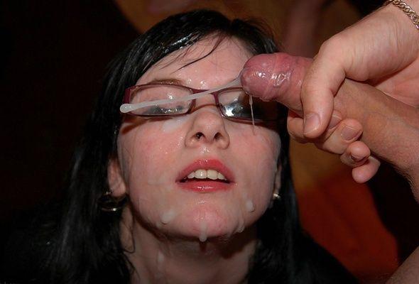 Yang whore handjob dick cumshot