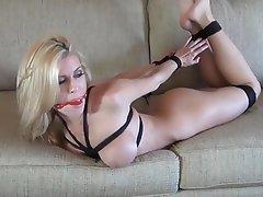 best of Blonde bondage Hot