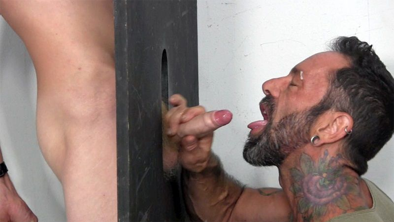 Reverend reccomend glory hole straight