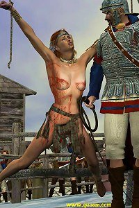 Rainbow reccomend Femdom crucifiction art