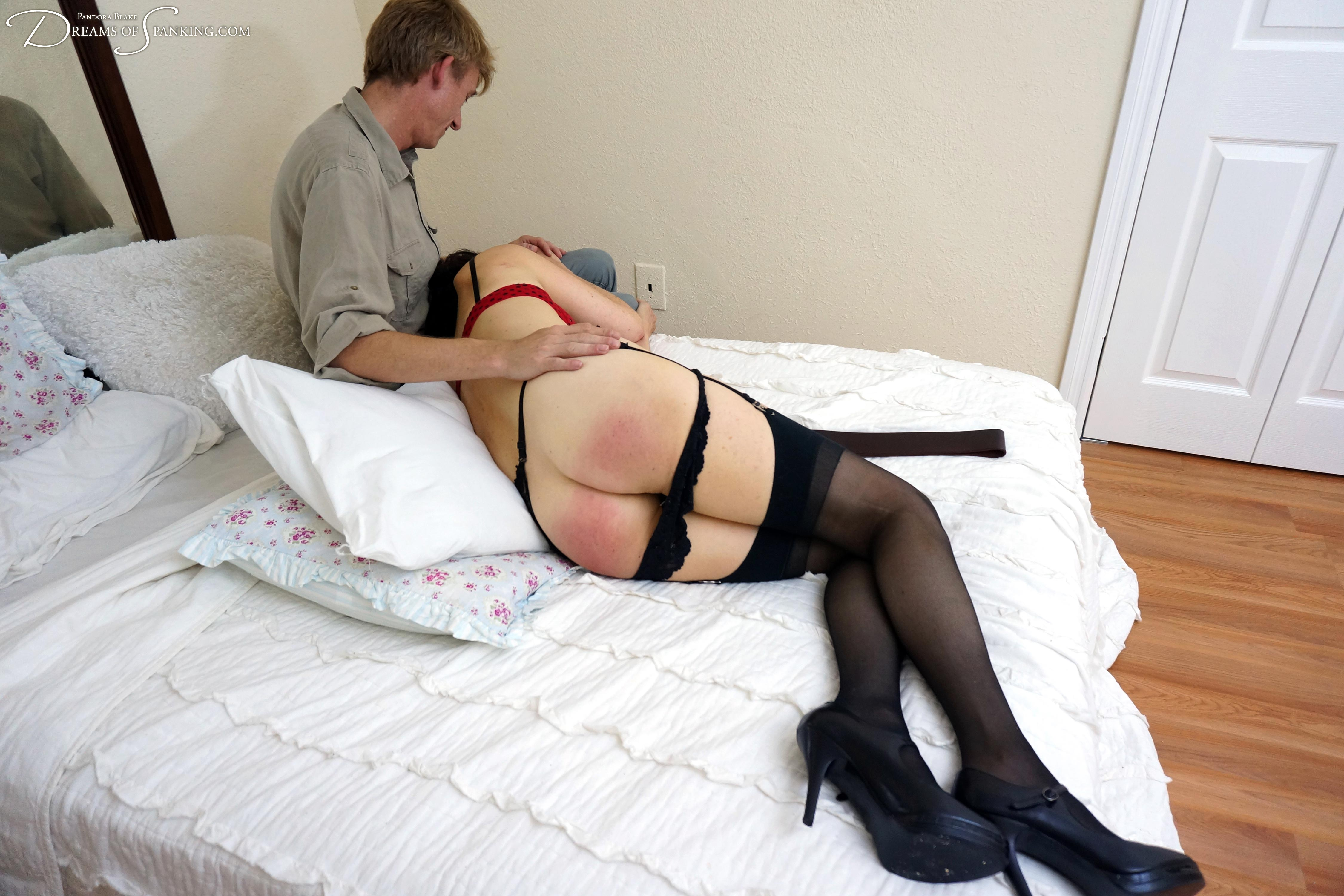 best of Hard wet pussy spanked Wife red
